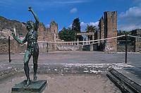 Italy ,Campania ,Pompei,Fauna House
