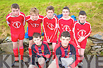 Stars in Waiting: front l-r; Paul Dalton & Sean Leahy from St. Bernards, back l-r; Daragh O'Sullivan, Kevin Curran, Thomas O'Connell, Paudie Murphy & Eoghan McCrohan from Iveragh UTD.