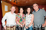 John Sheehan Concert :  Pictured at the  John Sheehan  concert in Your Man's Bar, Ballyduff on Saturday night last were mark Mike, Mary Jo & Patricia O'Connor & Clive Putman from Kilflynn.