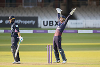 Dane Vilas of Lancashire CCC leads the appeal for LBW against James Harris of Middlesex CCC during Middlesex vs Lancashire, Royal London One-Day Cup Cricket at Lord's Cricket Ground on 10th May 2019