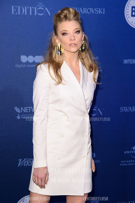 Natalie Dormer at the British Independent Film Awards 2017 at Old Billingsgate, London, UK. <br /> 10 December  2017<br /> Picture: Steve Vas/Featureflash/SilverHub 0208 004 5359 sales@silverhubmedia.com