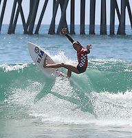 Finals day at the Vans U.S. Open of Surfing in Huntington Beach, California.
