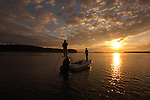 FLY FISHING IN CASCO BAY, MAINE