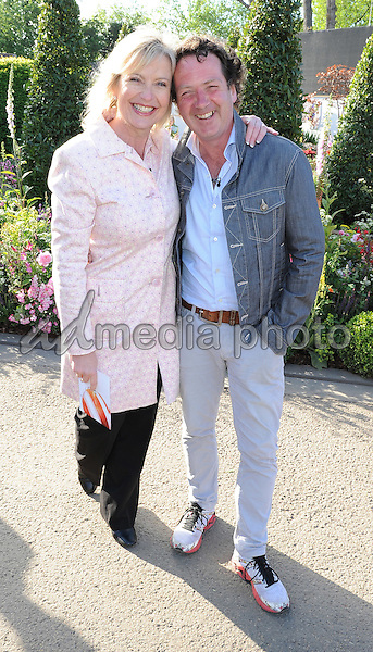 23 May 2016 - London, England - Carol Kirkwood, Diarmuid Gavin. RHS Chelsea Flower Show 2016 held at the Royal Hospital. Photo Credit: Alpha Press/AdMedia