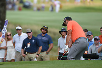 Jon Rahm (ESP) chips on to 12 during round 3 of the WGC FedEx St. Jude Invitational, TPC Southwind, Memphis, Tennessee, USA. 7/27/2019.<br /> Picture Ken Murray / Golffile.ie<br /> <br /> All photo usage must carry mandatory copyright credit (© Golffile | Ken Murray)