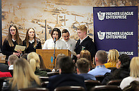 Pictured: Llangatwck Community School presentation Wednesday 25 November 2015<br />