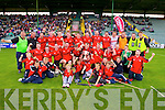 Kenmare team after defeating  Crokes in the County Intermediate Final at Austin Stack Park Tralee on Sunday.