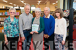 "Joan O'Reilly at the launch of her book ""1916 Rising"" in the Killarney Library last Tuesday. Pictured with L-R Sheila O'Connell, Frank O'Reilly, Tim Joe O'Connell and Eabha O'Reilly."