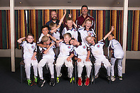 Year 5 Reds. Eastern Suburbs Cricket Club junior team photos at Easts Cricket clubrooms, Kilbirnie, Wellington, New Zealand on Monday, 6 March 2017. Photo: Dave Lintott / lintottphoto.co.nz