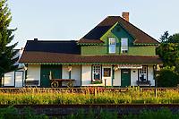 CN Fort Langley Train Station Built in 1915, Fort Langley B.C.