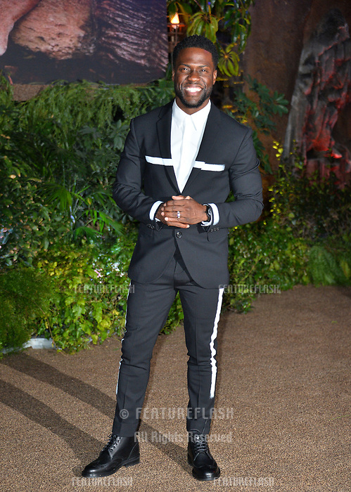 Kevin Hart at the Los Angeles premiere of &quot;Jumanji: Welcome To the Jungle&quot; at the TCL Chinese Theatre, Hollywood, USA 11 Dec. 2017<br /> Picture: Paul Smith/Featureflash/SilverHub 0208 004 5359 sales@silverhubmedia.com
