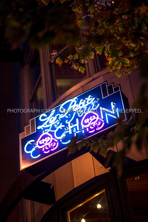 10/16/2014&mdash;Seattle, WA, USA<br /> <br /> Derek Ronspies, owner and chef at Le Petit Cochon in Seattle&rsquo;s Fremont neighborhood.<br /> <br /> Photograph by Stuart Isett<br /> &copy;2014 Stuart Isett. All rights reserved.