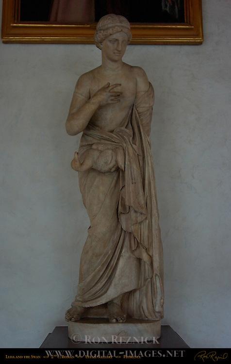 Leda and the Swan 2nd c Roman Uffizi Gallery Florence