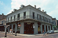 New Orleans:  Vincent Nolte House, 541 Royal St.  Architect Benjamin Latrobe, 1819.
