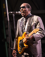 Clarence Carter at the 2012 Blues and BBQ Festival in New Orleans, LA.