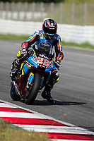 9th July 2020; Circuit de Barcelona Catalunya, Barcelona, Spain; FIM Superbike World Championship Test, Day Two; Sam Lowes of the MarcVDS Team in action during the second day of test