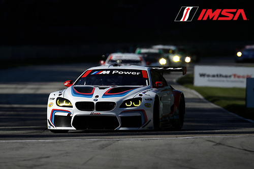 IMSA WeatherTech SportsCar Championship<br /> Continental Tire Road Race Showcase<br /> Road America, Elkhart Lake, WI USA<br /> Saturday 5 August 2017<br /> 25, BMW, BMW M6, GTLM, Bill Auberlen, Alexander Sims<br /> World Copyright: Michael L. Levitt<br /> LAT Images
