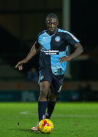 Anthony Stewart of Wycombe Wanderers in action during the Sky Bet League 2 match between Yeovil Town and Wycombe Wanderers at Huish Park, Yeovil, England on 24 November 2015. Photo by Andy Rowland.