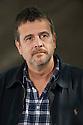Mark Billingham, comedian and crime writer  at The Edinburgh International Book Festival   . Credit Geraint Lewis