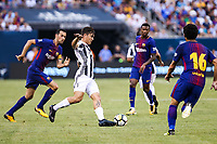 EAST RUTHERFORD, EUA, 22.07.2017 - JUVENTUS-BARCELONA - Paulo Dybala do Barcelona (ESP) durante partida contra a Juventus (ITA) valido pela Internacional Champions Cup no MetLife Stadium na cidade de East Rutherford nos Estados Unidos neste sábado, 22. (Foto: William Volcov/Brazil Photo Press)