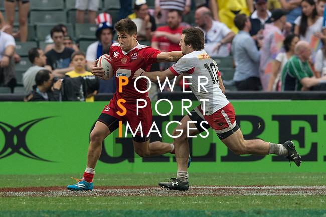 Russia vs Canada during the HSBC Hong Kong Rugby Sevens 2016 on 10 April 2016 at Hong Kong Stadium in Hong Kong, China. Photo by Li Man Yuen / Power Sport Images