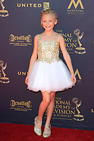 PASADENA - APR 30: Alyvia Alyn Lind at the 44th Daytime Emmy Awards at the Pasadena Civic Center on April 30, 2017 in Pasadena, California