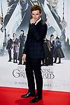 Eddie Redmayne attends to Fantastic Beasts: The Crimes of Grindelwald film premiere during the Madrid Premiere Week at Kinepolis in Pozuelo de Alarcon, Spain. November 15, 2018. (ALTERPHOTOS/A. Perez Meca)