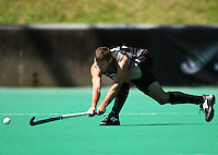 NZ's Bryce Collins during the international hockey match between the New Zealand Black Sticks and India at National Hockey Stadium, Wellington, New Zealand on Saturday, 20 February 2009. Photo: Dave Lintott / lintottphoto.co.nz