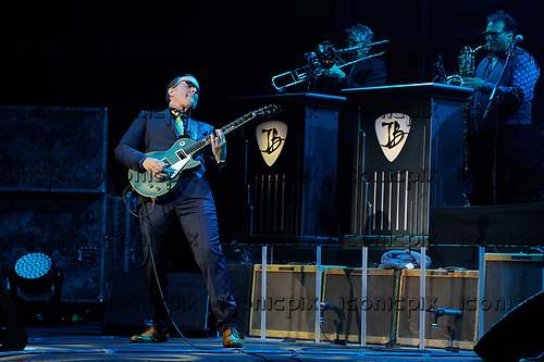 JOE BONAMASSA - performinglive at the Royal Albert Hall in London UK - 21 Apr 2017.  Photo credit: Zaine Lewis/IconicPxi