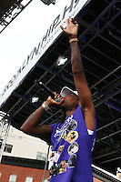 BROOKLYN, NY - JULY 16, 2016 Fabolous performs at the Brooklyn Music Festival July 16, 2016 in Brooklyn, New York. Photo Credit: Walik Goshorn / Mediapunch