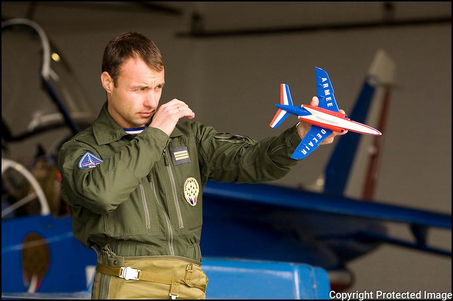 -2008- Salon de Provence- Patrouille de France, Capitaine Ludovic Bourgeon.