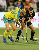 Dylan Thomas. Pro League Hockey, Vantage Blacksticks Men v Australia, ANZAC test. North Harbour Hockey Stadium, Auckland, New Zealand. Thursday 25 April 2019. Photo: Simon Watts/Hockey NZ