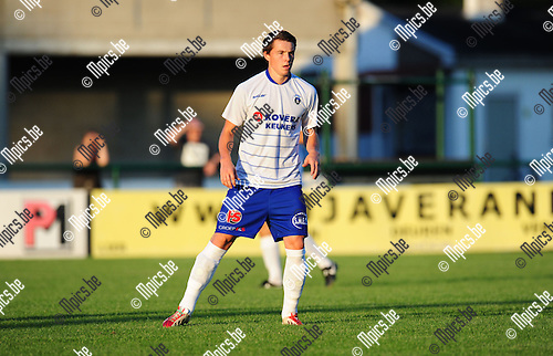 2014-07-23 / Voetbal / seizoen 2014-2015 / KSK Heist / Rik Van Praet<br /><br />Foto: mpics.be