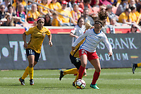 Sandy, UT - Saturday April 14, 2018: Danielle Colaprico during a regular season National Women's Soccer League (NWSL) match between the Utah Royals FC and the Chicago Red Stars at Rio Tinto Stadium.
