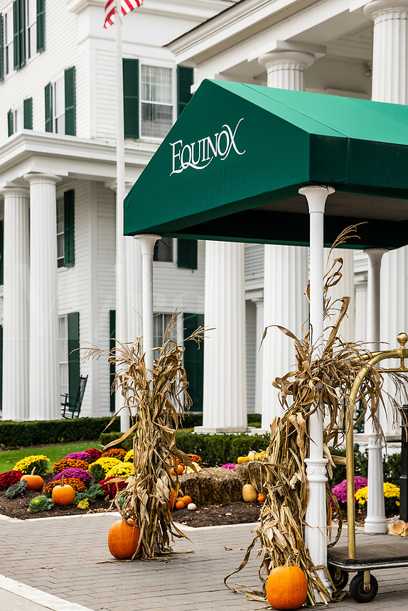 The Equinox Hotel Resort, Manchester, Vermont, USA.