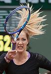 May 23,2016:   Bojana Jovanovski (SRB) loses to Agnieszka Radwanska (POL) 6-0. 6-2, at the Roland Garros being played at Stade Roland Garros in Paris, .  ©Leslie Billman/Tennisclix CSM