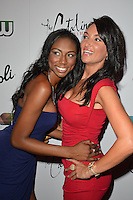 MIAMI BEACH, FL - MAY 22: Denia Hall and Stephanie Andron attend The Catalina reality show premiere party at Catalina Hotel on May 22, 2012 in Miami Beach, Florida. (photo by: MPI10/MediaPunch Inc.)