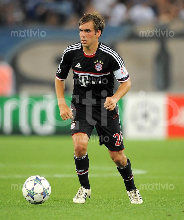 FUSSBALL   CHAMPIONS LEAGUE   SAISON 2011/2012  Qualifikation  23.08.2011 FC Zuerich - FC Bayern Muenchen Philipp Lahm (FC Bayern Muenchen)