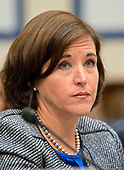 Kerry Philipovitch, Senior Vice President of Customer Experience, American Airlines, gives testimony before the United States House Committee on Transportation and Infrastructure hearing concerning airline customer service issues in Washington, DC on Tuesday, May 2, 2017.  <br /> Credit: Ron Sachs / CNP