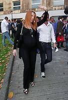 Manifestazione  di Forza Italia<br /> nella foto    Michela Brambilla incinta