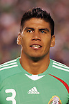 June 04 2008:  Carlos Salcido (PSV Eindhoven / HOL) (3) of Mexico..During Mexico's 2008 USA Tour in preparation for qualification for FIFA's 2010 World Cup, the national soccer team of Mexico was defeated by Argentina 1-4 at Qualcomm Stadium, in San Diego, CA.