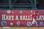 4 September 2016: Lowell Spinners outfielder Tyler Hill pulls in a fly ball during play against the Vermont Lake Monsters at Centennial Field in Burlington, Vermont. The Spinners defeated the Lake Monsters 8-3 in NY Penn League action. Mandatory Credit: Ed Wolfstein Photo *** RAW (NEF) Image File Available ***