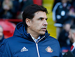 Chris Coleman manager of Sunderland during the Championship match at Bramall Lane Stadium, Sheffield. Picture date 26th December 2017. Picture credit should read: Simon Bellis/Sportimage