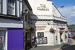 Coliseum former cinema now Wetherspoon pub, Abergavenny, Monmouthshire, South Wales, UK