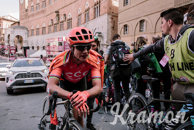 Marianne Vos (NED/CCC-Liv) post-finish<br /> <br /> 5th Strade Bianche WE (1.WWT)<br /> One day race from Siena to Siena (136km)<br /> <br /> ©JojoHarper for kramon