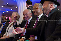 London, 12/11/2014. Today, an &quot;emergency meeting&quot; was called in Tower Hamlets to discuss the ongoing dispute between the Secretary of State for Communities and Local Government Erick Pickles (Conservative Member of Parliament for Brentwood) and the twice elected Mayor of Tower Hamlets Lutfur Rahman. ...<br /> <br /> For more pictures on this event click here: &lt;a href= &quot; http://bit.ly/1DcGFgI&quot;&gt; http://bit.ly/1DcGFgI&lt;/a&gt;