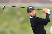 Ayoub Ssouadi (Morocco) on the 5th tee during Round 1 of the The Amateur Championship 2019 at The Island Golf Club, Co. Dublin on Monday 17th June 2019.<br /> Picture:  Thos Caffrey / Golffile<br /> <br /> All photo usage must carry mandatory copyright credit (© Golffile | Thos Caffrey)