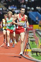 Photo: Tony Oudot/Richard Lane Photography..Aviva London Grand Prix. 25/07/2009. .men's 3000m Under 20. .Ben Hunter.