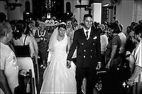 Cuba, Santa Clara.<br /> Matrimonio in chiesa.<br /> Cuba, Santa Clara.<br /> Wedding in church.