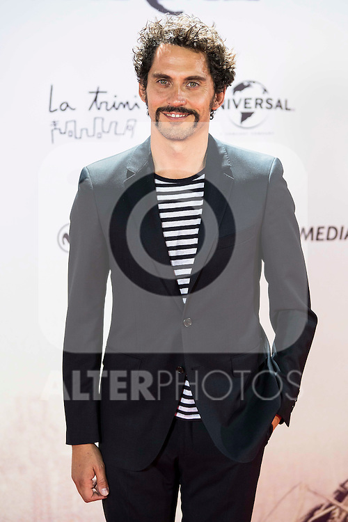 "Paco Leon during the premiere of the spanish film ""Un Monstruo Viene a Verme"" of J.A. Bayona at Teatro Real in Madrid. September 26, 2016. (ALTERPHOTOS/Borja B.Hojas)"